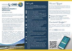 Flyer Hiddensee CARD